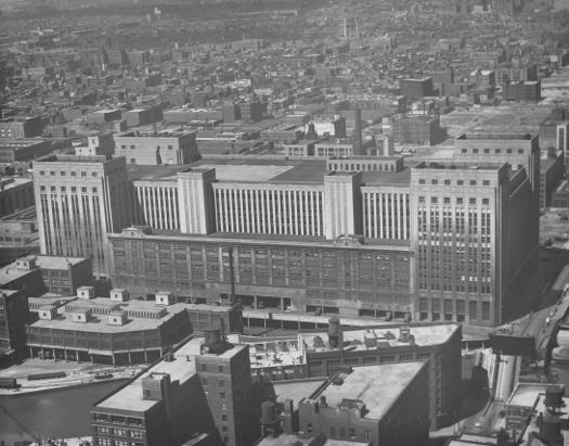 Post Office And View Southwest From Board Of Trade 1951