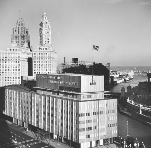 Chicago Sun-Times / Chicago Daily News building, 1964